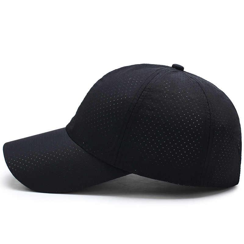 9d5a504693c ...  AETRENDS  Men Women 2017 Summer Snapback Quick Dry Mesh Baseball Cap  Sun Hat Bone ...