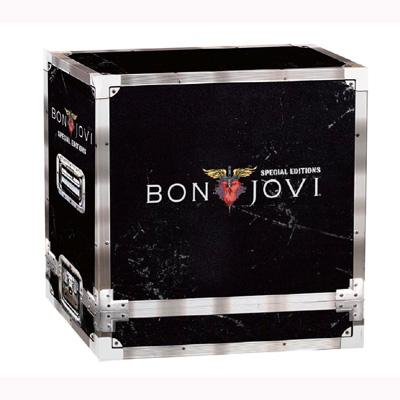 BON JOVI 11CD+1DVD BOX SET Complete Collection Special Edition Music Cd Boxset brand New freeshipping remasters box 4 compact disc set cd