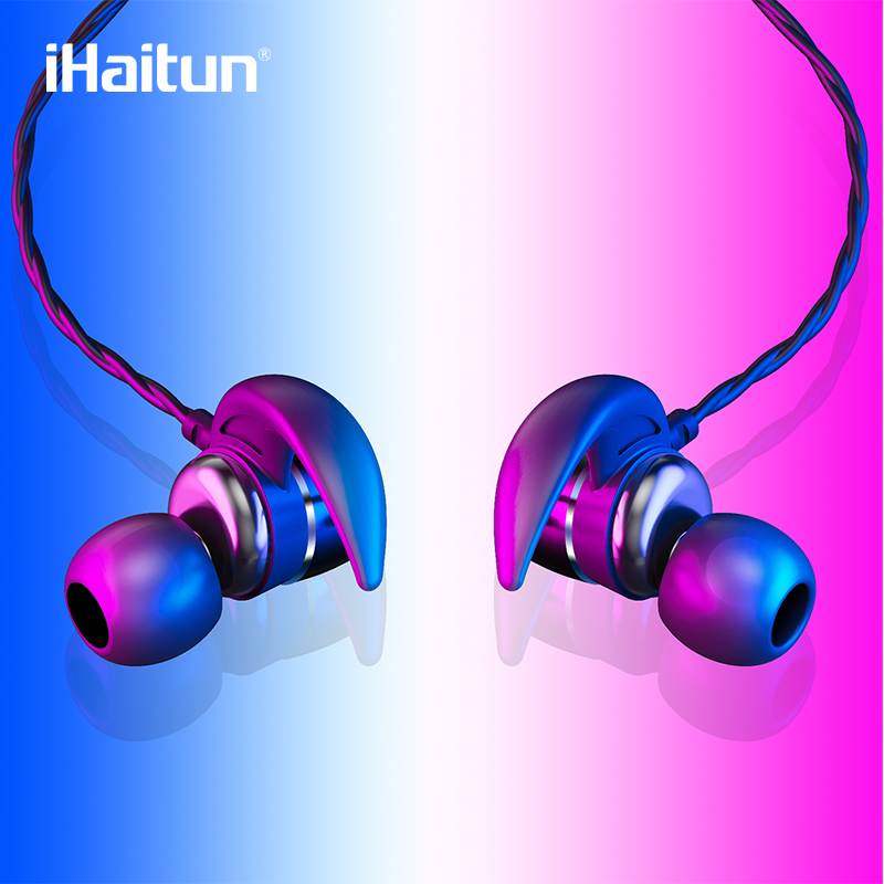 iHaitun Sport Earbuds Design Handsfree In Ear Headphones Handfree Phones Headset Bluetooth Earphone For Xiao Redmi Honor Samsung