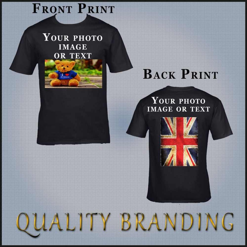 Detail Feedback Questions about Custom Personzlied Your Photo Image Son  Daughter Family Mens Womens T Shirts Many Color T Shirts Personalized Tees  100% ...