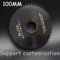 2pcs 100mm HSS Circular Saw Blade Rotary Tool For Metal Cutter Power Tool Wood Cutting Discs Drill Mandrel 0.7 1.8