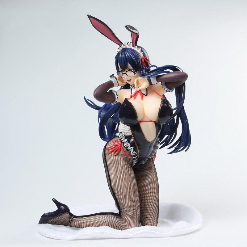 1/4 BINDing Creator's Opinion Ayaka Sawara ฝาครอบ Girl Bunny Ver สาวอะนิเมะพีวีซี Action Figure Collectible ตัวเลขเซ็กซี่ของเล่น-ใน ฟิกเกอร์แอคชันและของเล่น จาก ของเล่นและงานอดิเรก บน   1