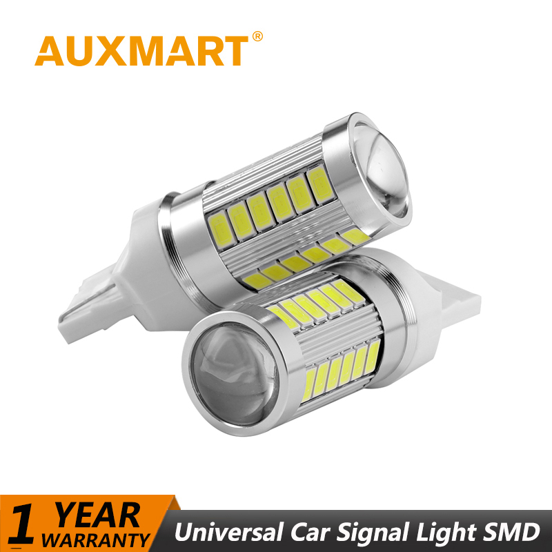 Auxmart Universal Car LED Light T10 T15 T20 T25 1156  1157 Canbus Light LED Bulbs Car-styling Auto Dashboard light LED 12V lamp 2pcs 12v 31mm 36mm 39mm 41mm canbus led auto festoon light error free interior doom lamp car styling for volvo bmw audi benz