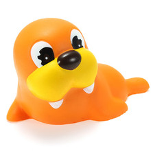 1PCS 12CM Squishying Walrus Soft Slow Rising Animals Cartoon Collection Gift Decor Toy