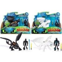 Новые экшн-фильмы, Как приручить дракона 3 Экшн-фигурки Беззубик, ночная фурия беззубистые игрушки для стрельбы ручные детские подарки
