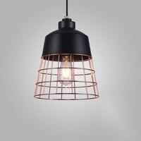 Nordic Stil Loft Einfache Eisen Amerikanischen Stil Anhänger Licht Für Esszimmer Hause Restaurant Kreative Studie Wohnzimmer LED|Kronleuchter|   -
