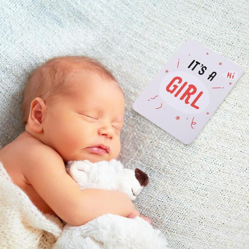 Cartoon Photography Photo Cards Commemorative Mother Background Decoration Milestone Photographic Props For Infant Growth