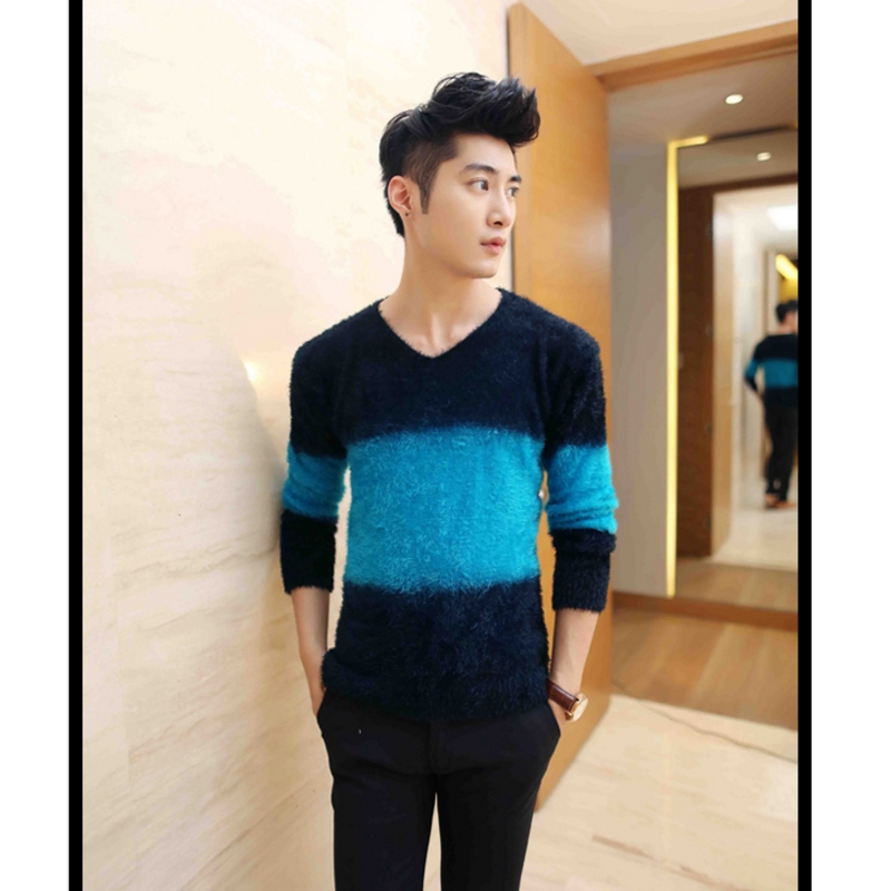 New Autumn And Winter Pullover Men V Neck Sweater Brand Clothing Turtleneck Christmas Sweater Men Sweater Plush Knitwear Sweater