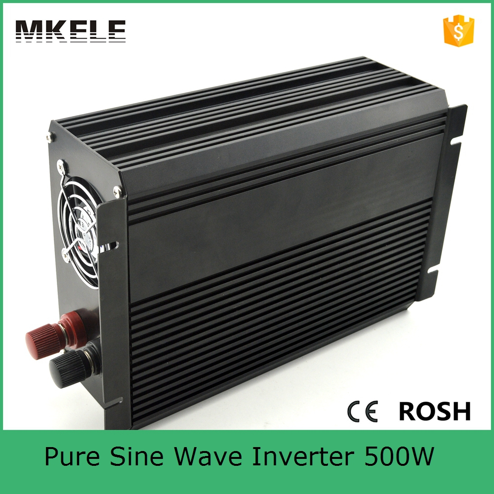 ФОТО MKP500-241B high quality 500W pure sine wave power inverter 500w 24vdc to 110vac home backup power backup power for home use