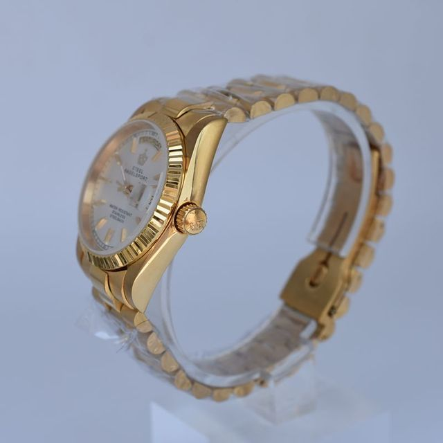 Automatic Mechanical Watch Classic Ladies Full Steel Male Clock Fashion Women Charm Bracelet Watch Mens Watches Top Brand Luxury