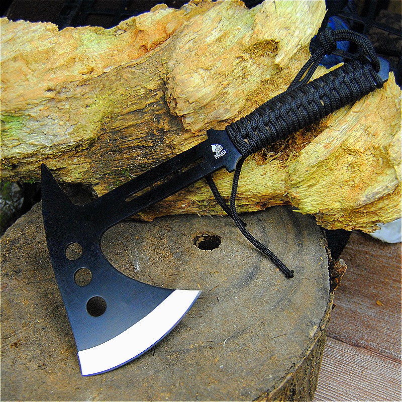 PEGASI  Portable Jungle Axe, Outdoor Tactical Axe, Axe, Cut Vegetables, Cut Meat Axe Factory Price Direct Selling