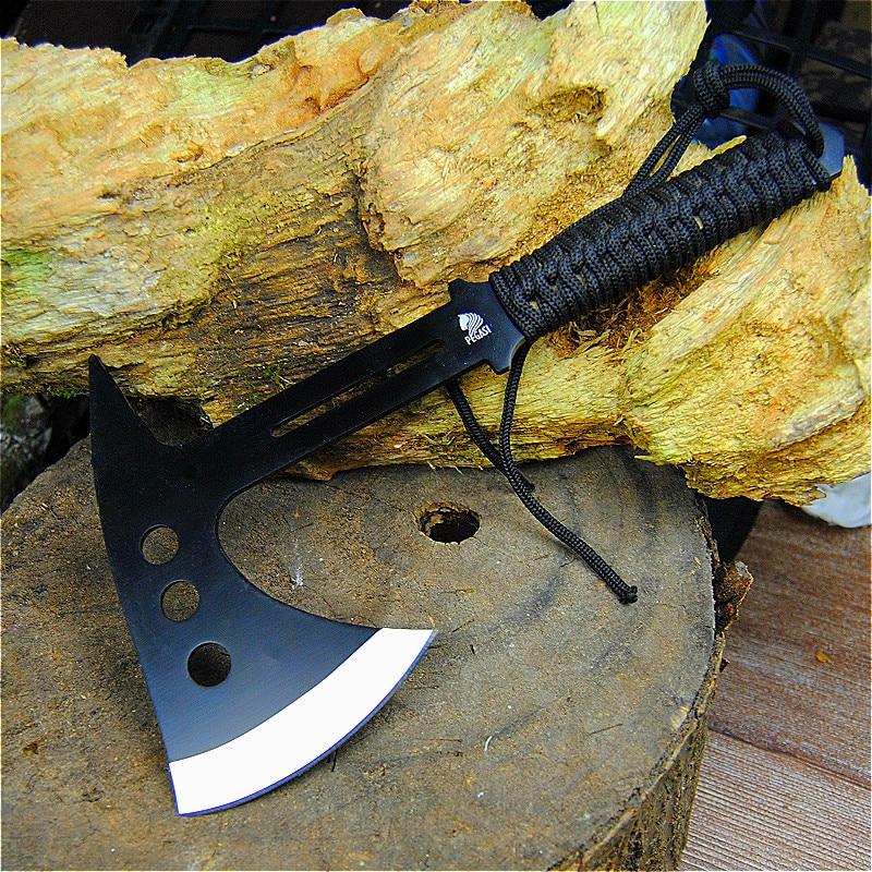PEGASI  Portable Jungle Axe, Outdoor Tactical Axe, Axe, Cut Vegetables, Cut Meat Axe Factory Price Direct Selling
