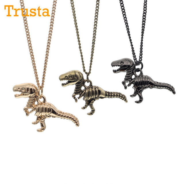 Dinosaur Necklace Jewelry Jewellry Dinosaurs Tiny
