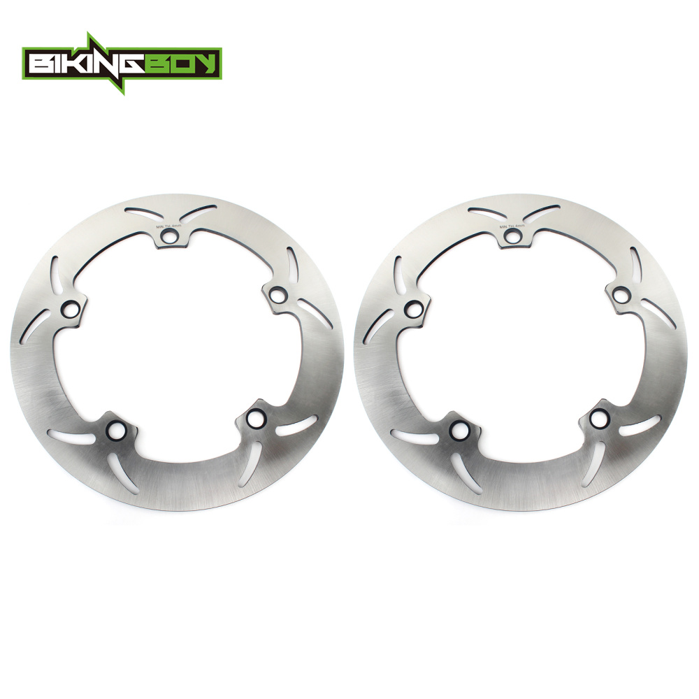 BIKINGBOY Front Brake Discs Disks Rotors For BMW R <font><b>1150</b></font> <font><b>GS</b></font> 99-05 K 1200 RS 97-00 R 1200 C 97-01 R 1200 <font><b>GS</b></font> / ABS 08-18 R 1200 CL image