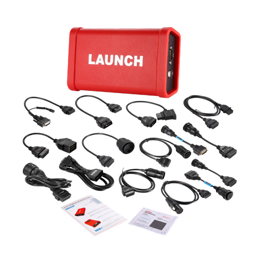 LAUNCH X431 HD Heavy Duty Special For 24V Truck Diagnostic Tool Which Communicates With X-<font><b>431</b></font> <font><b>PRO3</b></font>/X-431PAD Free Update Online image