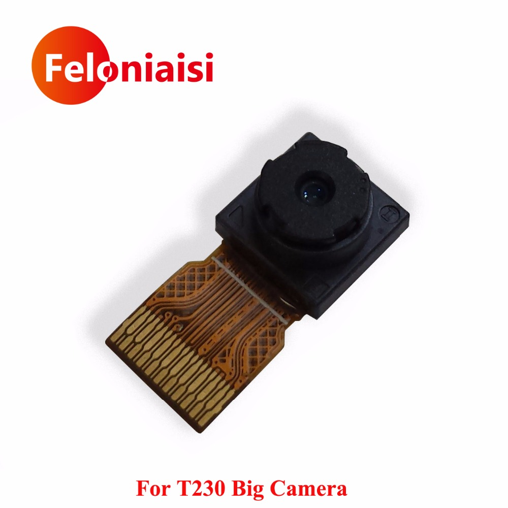 High Quality For Samsung Galaxy Tab 4 SM-T230 T230 Big Camera Back Rear Camera Module Parts Repair Replacement чехол для планшета 0asis samsung tab4 t230 t230 7 for galaxy tab 4 t230