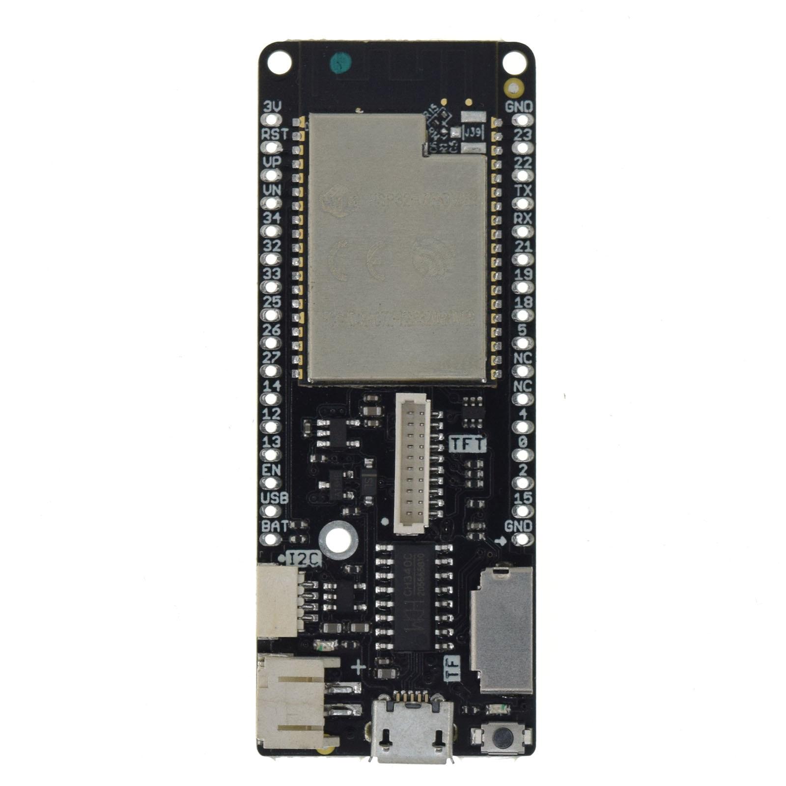 LOLIN D32 Pro V2.0.0 - wifi & bluetooth board based ESP-32 esp32 Rev1 ESP32-WROVER 4MB FLASH PSRAM MicroPython