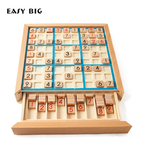 EASY BIG Learning Education Wooden Math Toys Puzzle Toys For Children Educational Equipment Sudoku Game Gifts TH0054