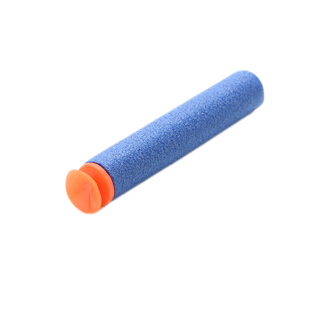 100 Pcs Toy Gun Refill Darts Sniper Bullet Blaster With Soft Sucker For 3 Colors