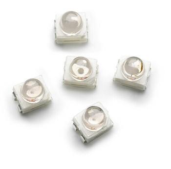 Avago PLCC-4 SMT LED 1210 3528 czerwony HSMC-A431-X90M1 tanie i dobre opinie