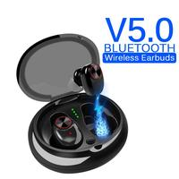ravi V5 Earphones True Wireless Earbuds Stereo Earpiece Bluetooth Headphone 5.0 Headset Waterproof With Charging Box for iphone