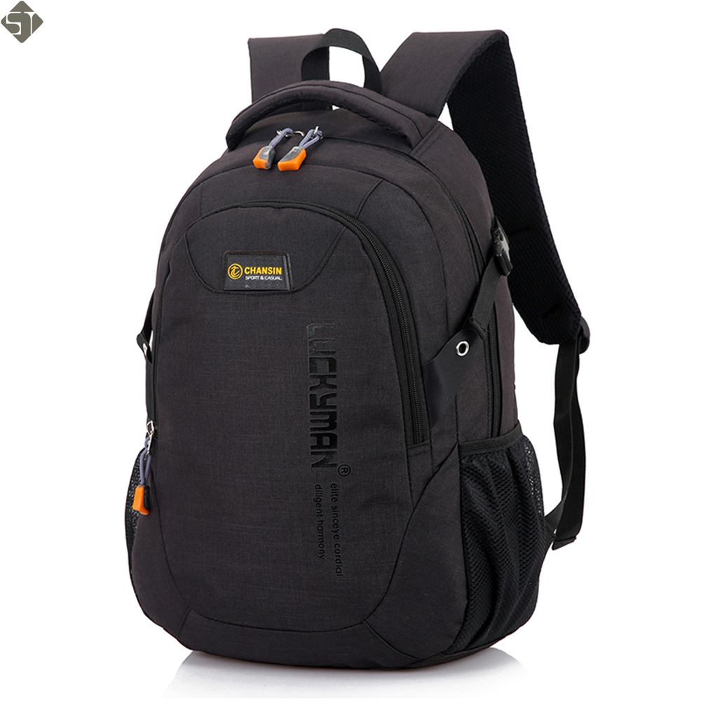Brand Unisex School Bag Waterproof Nylon New Schoolbag Business Men Women Backpack Polyester Bag Shoulder Bags Computer Packsack