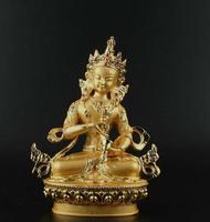 Collection Chinese Tibet Tibetan Tantra Buddhism Buddha Statue Vajrasattva Kwan yin GuanYin Goddess Buddha Statue