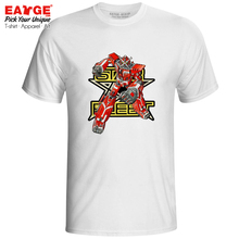 Star Fleet X-Bomber T Shirt Big Dai X Cool Retro Tokusatsu Anime Design Rock T-shirt Funny Pop Style Unisex Men Women Top Tee