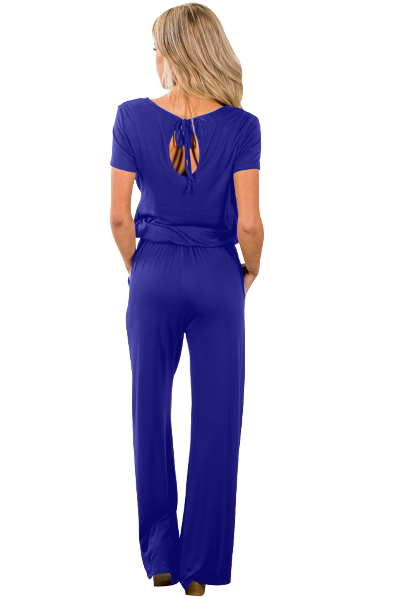 Blue-Casual-Lunch-Date-Jumpsuit-LC64388-5-2