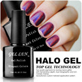 Gel Len Halo Gel Polish High Quality Nails Art Glitter Bling LED Soak Off Long-lasting Gel Varnish Polish 20 Elegant Colors