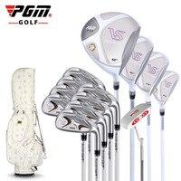 Гольф клуб розовое золото Дамская рукавом VS полный набор гольф клубы профессиональных матчах