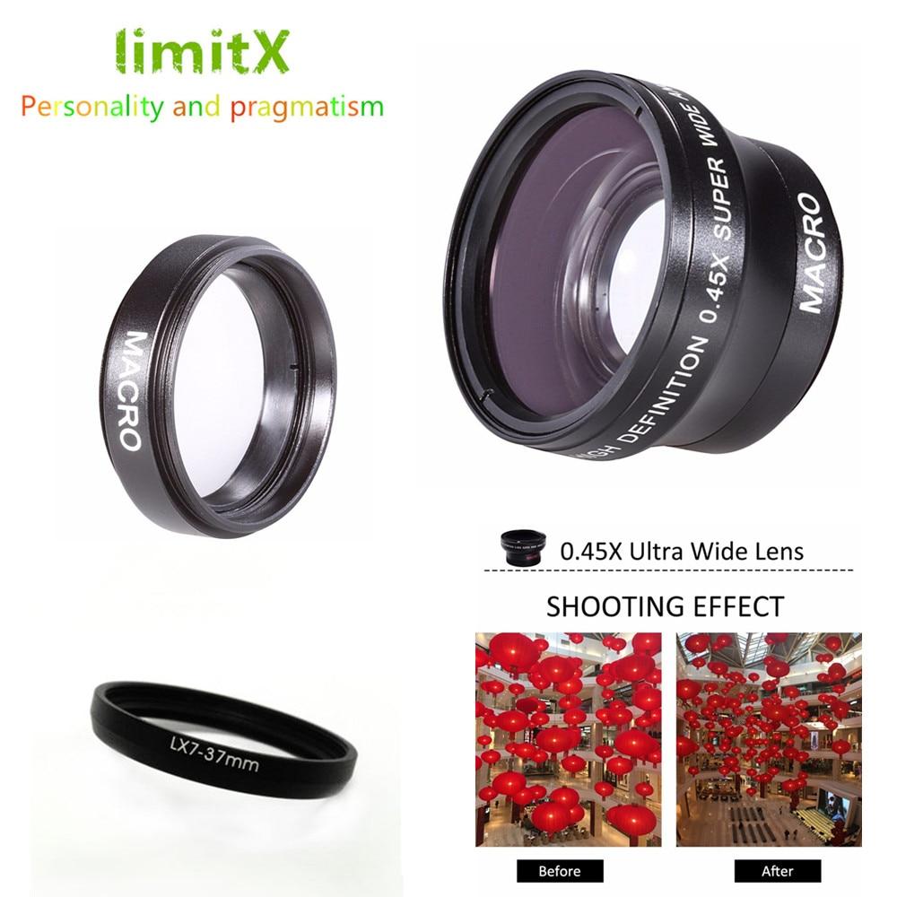 New Hi Def Wide Angle Lens with Macro for Panasonic Lumix DMC-FZ70