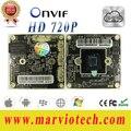 Módulo Da Câmera HD 720 P 1.0MP IP de Alta Definição + cauda fio DIY Seu Próprio Sistema De Segurança de rede Fast Shipping Hi3518 Chipset