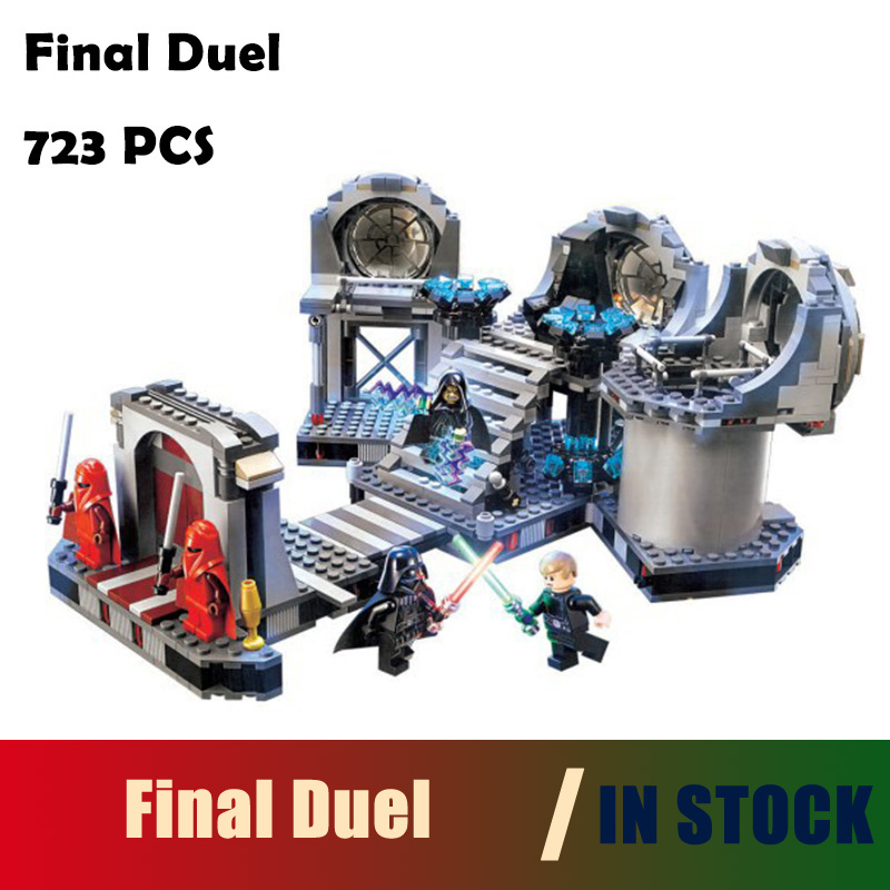 Compatible with lego Star Wars final duel Model building kits 75093 blocks Educational model building toys hobbies for children lepin 02012 city deepwater exploration vessel 60095 building blocks policeman toys children compatible with lego gift kid sets