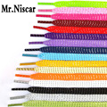 10 Pair 110cm Colorful Flat Shoelaces Colored Bootlaces Shoe Laces for Sneakers Shoelace Athletic Sport Metallic Yarn Shoestring