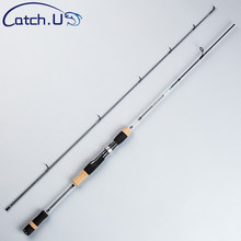 Catch.U 1.8M Fishing Rod Carbon Spinning Rods UL Lure Casting Rod Ultra Light Power Soft Fishing Rod Carp Line 2-5lb Wt 0.8-5g