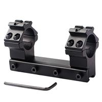 UniqueFire 30mm Extensão Scope Mount QD Destacável Se Encaixa em 11mm Cauda de Andorinha Picatinny Weaver Rail Montagens com 1'' converter Anéis