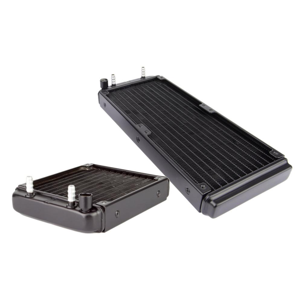Prix pour Alseye 5 pièces 120mm/240mm d'eau de refroidissement radiateur en aluminium dissipateur thermique pour cpu/vga diy refroidisseur ordinateur construire