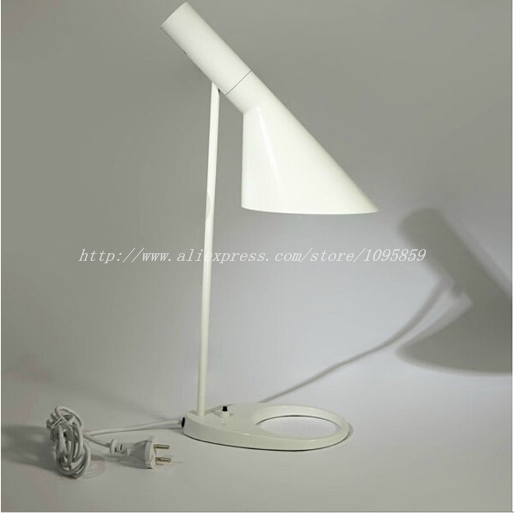 Bedroom Lamps Black: Modern Nordic Bedroom Table Lamp White Black Dining Room