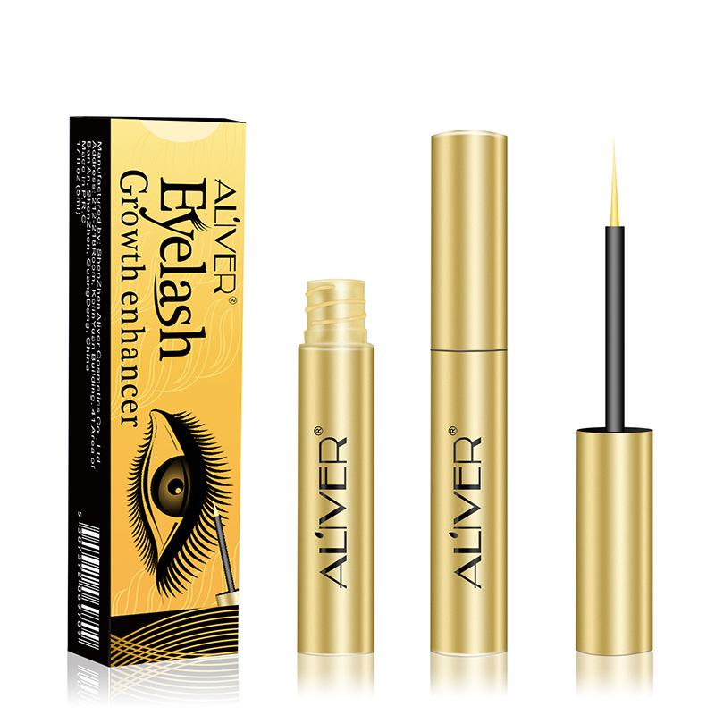 7164799bae1 ALIVER Eyelash Growth Treatments Eyelash Growth Liquid Serum Enhancer  Mascara Natural Extract Eye Lashes Lengthening wenkbrauw -in Eyelash Growth  Treatments ...