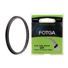 Protetor de lente de filtro uv fotga, proteção para câmera canon, nikon, sony, olympus 46mm 46mm