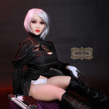 Racyme# Japanese Sex Doll for Male 158cm Full Size Silicone Doll Oral Anal Real Sized lifelike Adult Doll Anime love dolls New