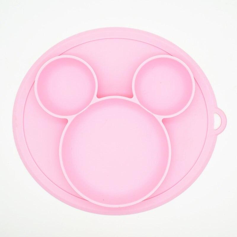 Baby Fütterung Platos Suctorial Cartoon Esszimmer Baby Platte Gerichte Geschirr Obst Gerichte Kinder Schüssel Fütterung Geschirr Platten FDA