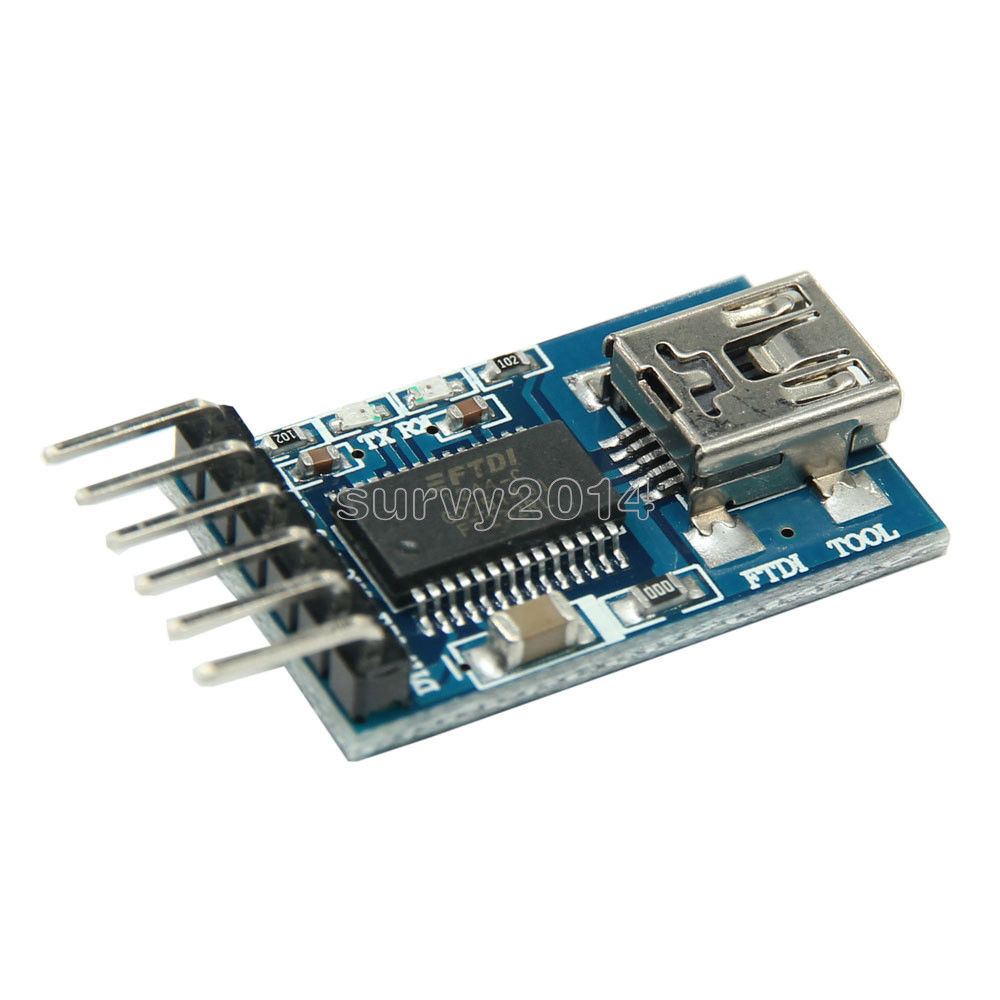 3.3 V 5.5 V FT232RL FTDI USB a TTL Module Serial Adapter per Arduino Mini Port3.3 V 5.5 V FT232RL FTDI USB a TTL Module Serial Adapter per Arduino Mini Port