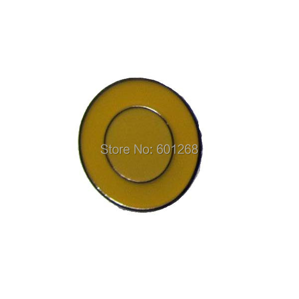 Wholesale Circle Pin Badges Made by Iron with Brass Plate Painted and Epoxy Accept Customized MOQ300pcs fee shipping