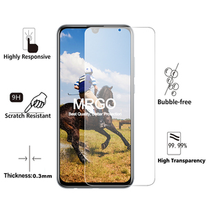 Image 2 - 2Pcs Glass for Huawei P Smart 2019 Glass Screen Protector 2.5D on Phone Protective Safety Tempered Glass for Huawei P Smart
