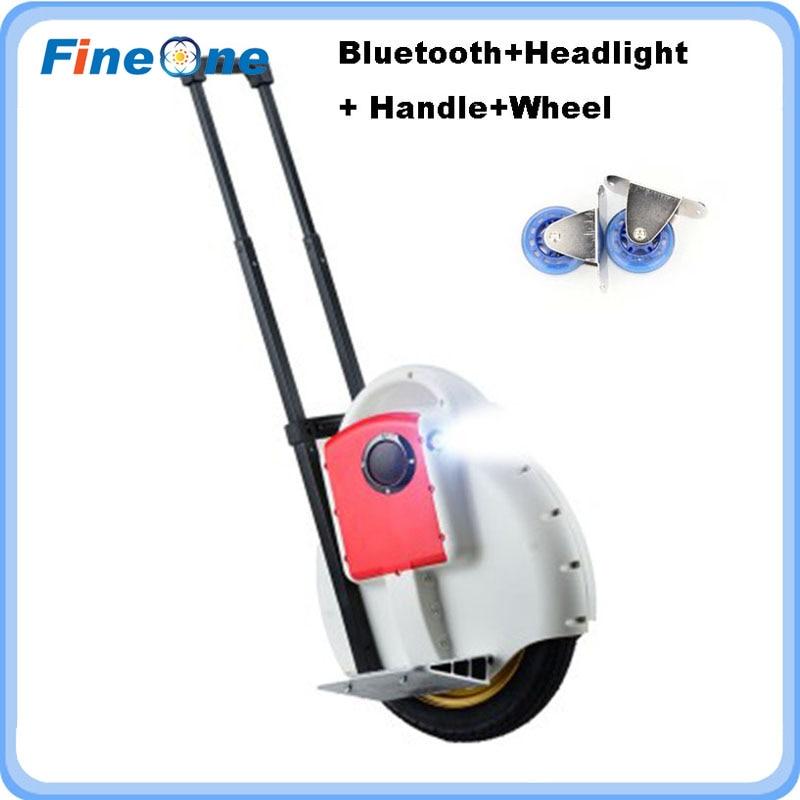 2019 Hoverbaord Monowheel scooter électrique auto équilibrage Scooter une roue équilibre intelligent Bluetooth brouette monocycle intelligent