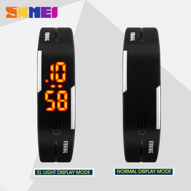 New Sports Bracelet LED Watch 2016 Sport Watch Fashion Digital Watch Date Time Women Wristwatch Waterproof Colorful Rubber Band