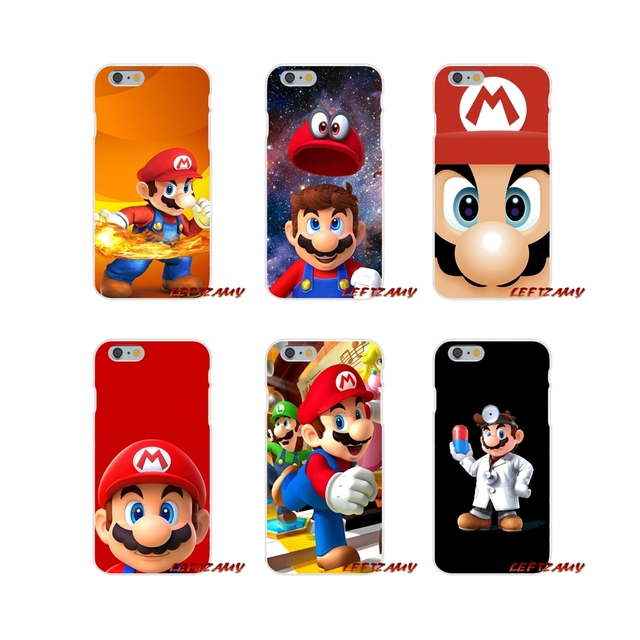 US $0 99 |Accessories Phone Shell Covers super mario bros Flexible For  Motorola Moto G LG Spirit G2 G3 Mini G4 G5 K4 K7 K8 K10 V10 V20 V30-in