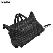 """CARRYLOVE 1"""" дюймов чехол для переноски на Женская ручная кладь чашку кабина чемодан на колесиках для путешествий Дорожная сумка на колесах"""